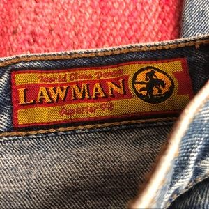 Vintage High Waisted Jeans by Lawman